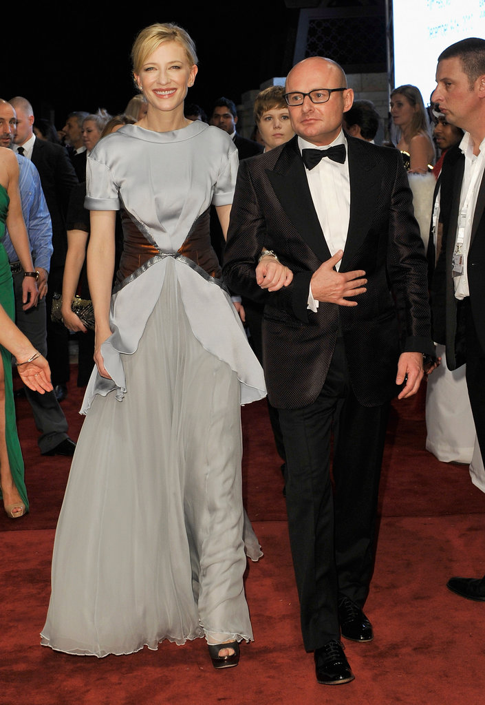 Cate Blanchett and George Kern