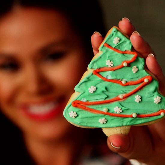 How to Decorate Christmas Sugar Cookies (Video) | POPSUGAR Food