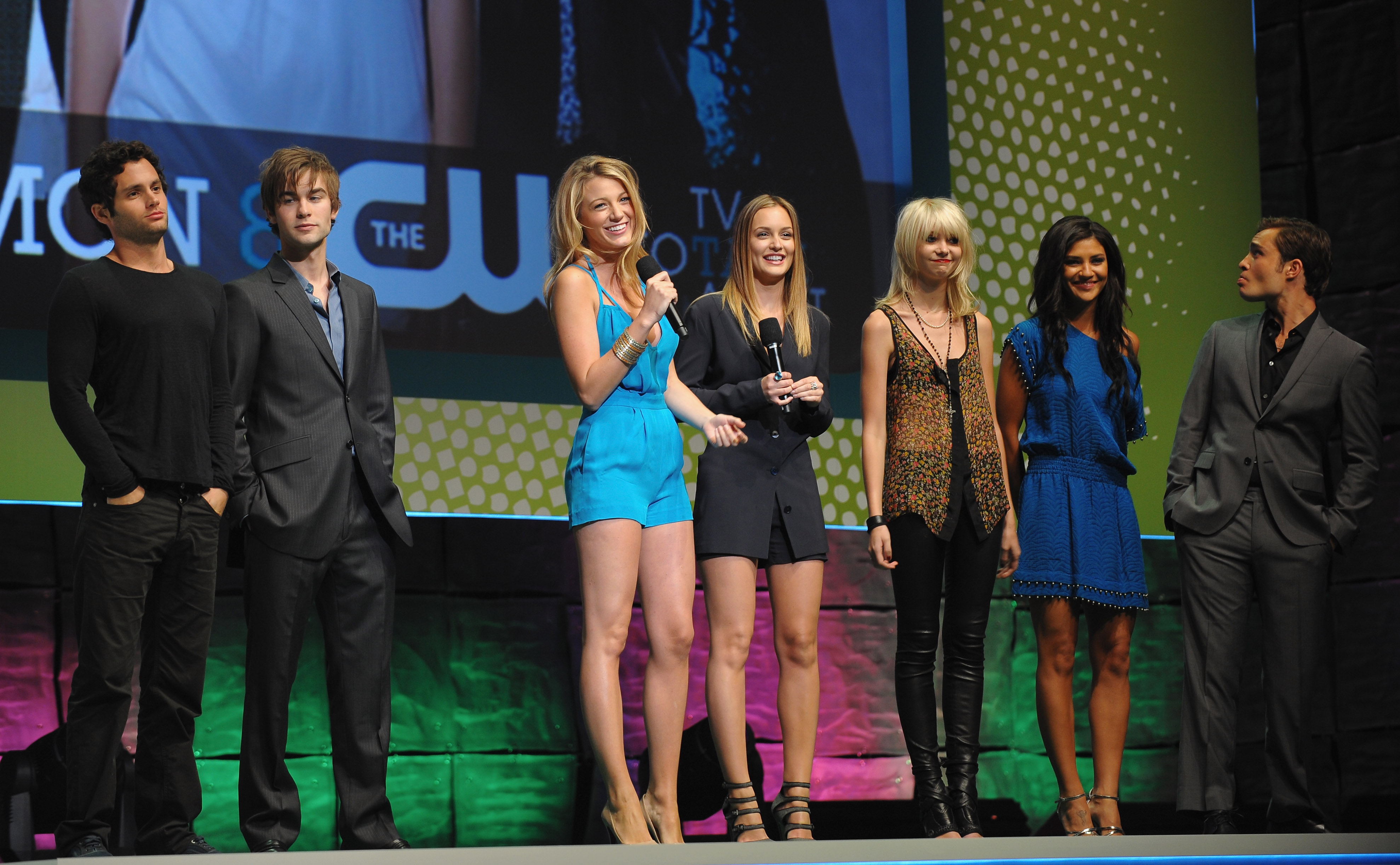 The cast chatted with press during a 2009 CW network presentation held in NYC in May 2009.