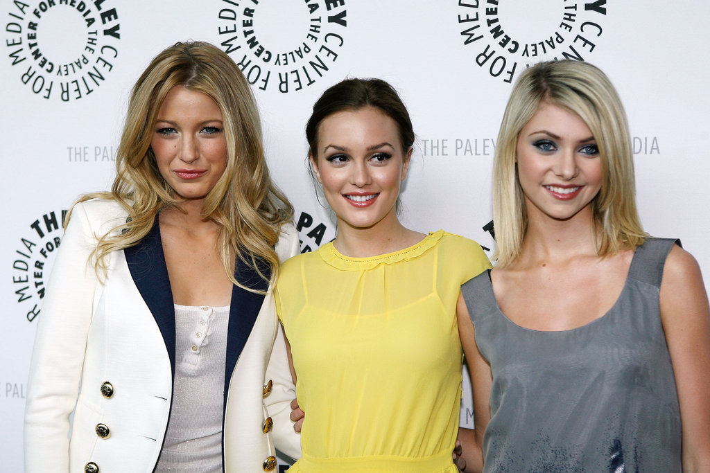 Blake Lively, Leighton Meester and Taylor Momsen smiled for photographers at a PaleyFest event in March 2008.