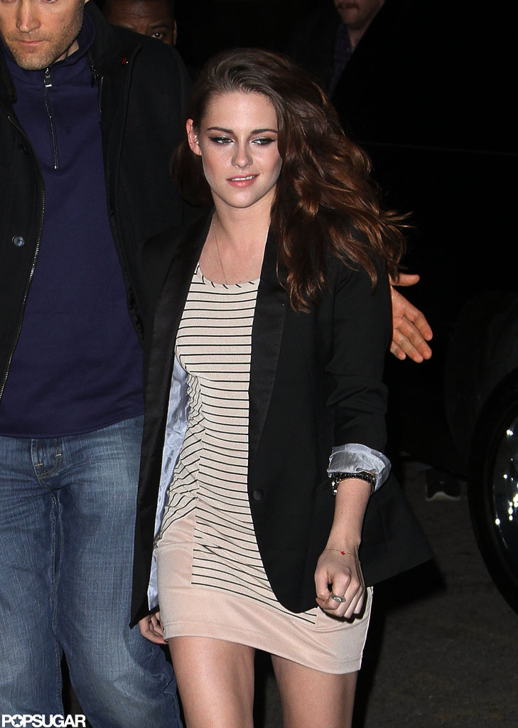 Kristen Stewart dropped by The Daily Show.