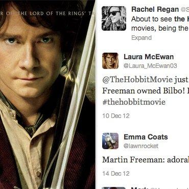 The Hobbit Twitter Reactions