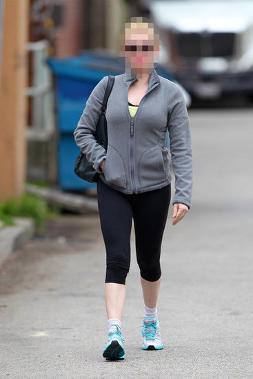 Guess Which Actress Is Leaving the Gym?