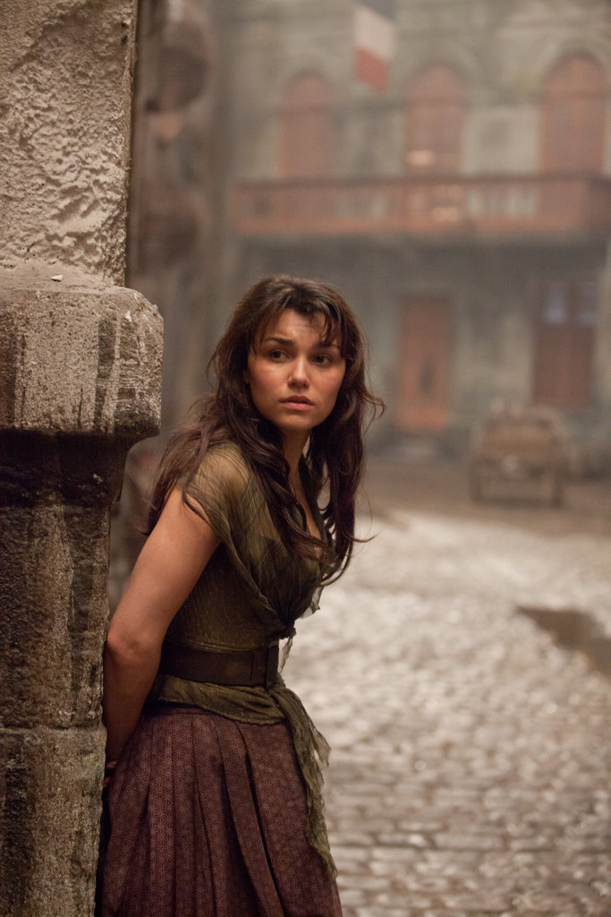 Samantha Barks in Les Misérables.