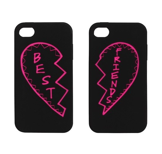 Your best friend would adore these Rebecca Minkoff's best friends iPhone cases ($58). Make sure to order by tomorrow, Tuesday, Dec. 18, for standard delivery.