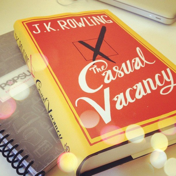 We shared J.K. Rowling's latest book The Casual Vacancy on our POPSUGAR Love & Sex Instagram.