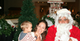 Autumn Reeser took her son to see Santa Claus in Hawaii.  Source: Facebook user Autumn Reeser