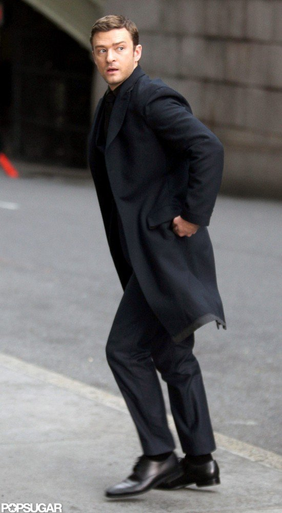 Justin Timberlake Takes a Sexy Turn on the Set of Runner, Runner