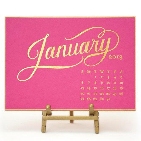 14 Calendars For 2013