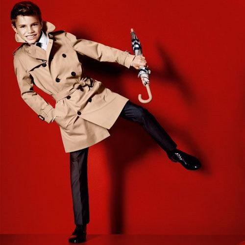 Romeo Beckham Shot by Mario Testino for Burberry SS 2013