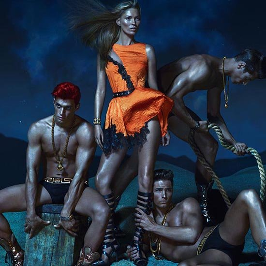 Kate Moss in Versace Spring 2013 Campaign | Picture