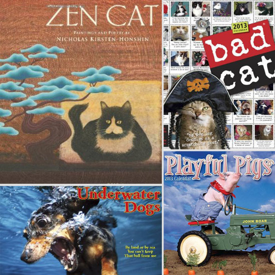 Ring in the New Year With a 2013 Animal Calendar