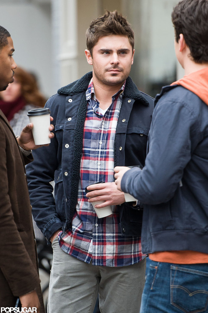 Zac Efron filmed a scene with Michael B. Jordan and Miles Teller for Are We Officially Dating?