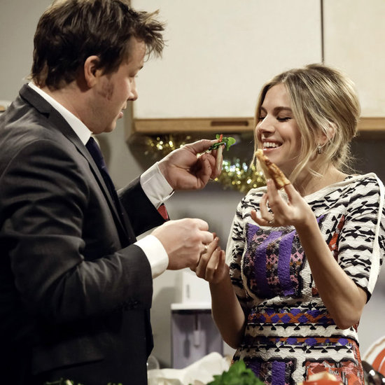 Sienna Miller on The Jonathan Ross Show Pictures