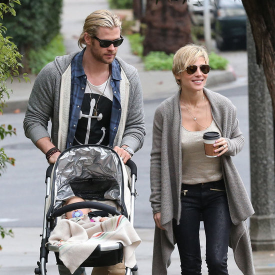 Liam and Chris Hemsworth Christmas With Miley Cyrus Pictures