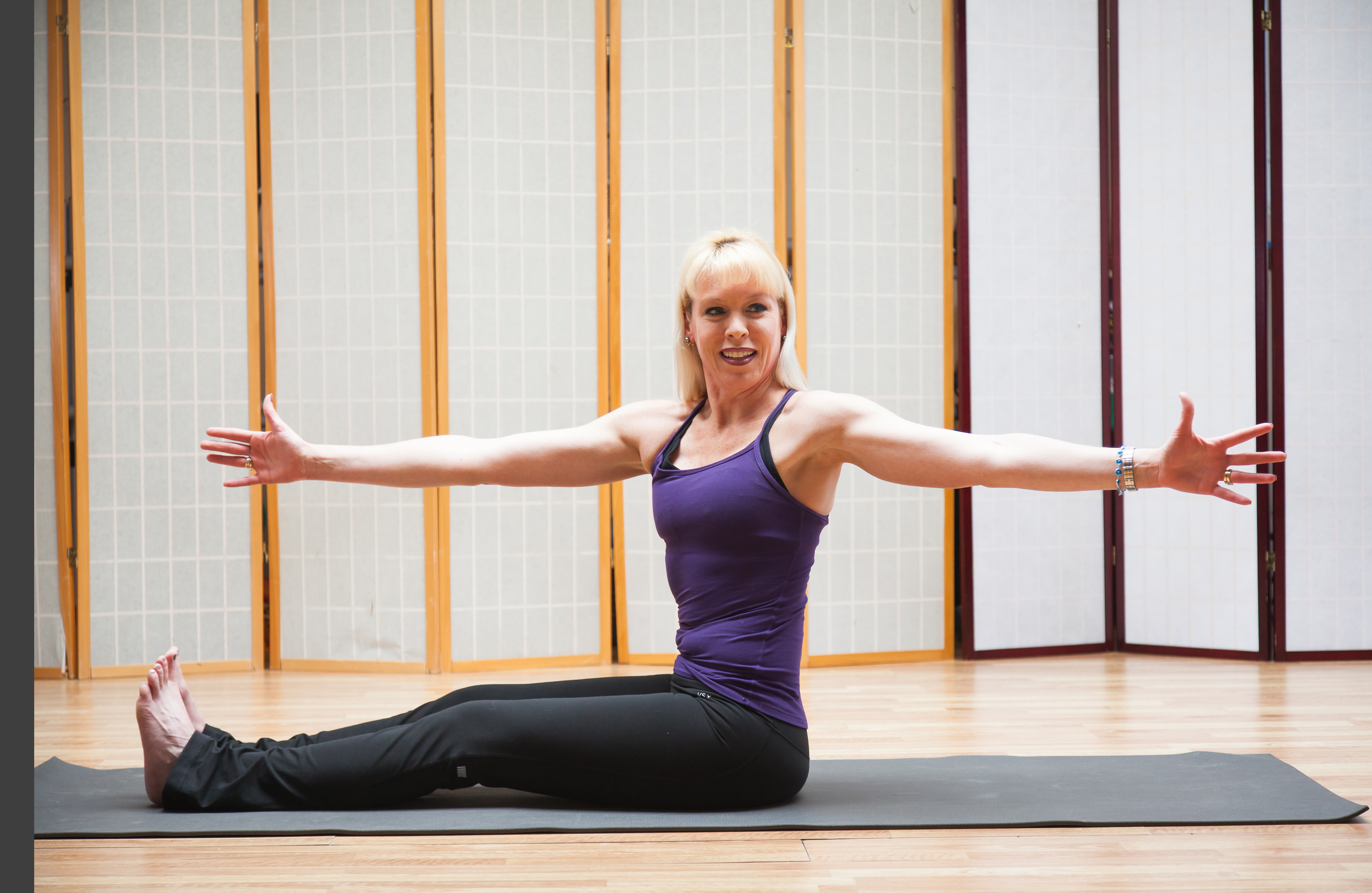Spinal Twist | Holiday Detox: A 10-Minute Yoga and Pilates