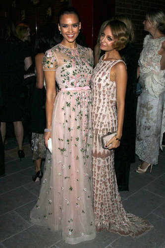Jessica Alba and Nicole Richie