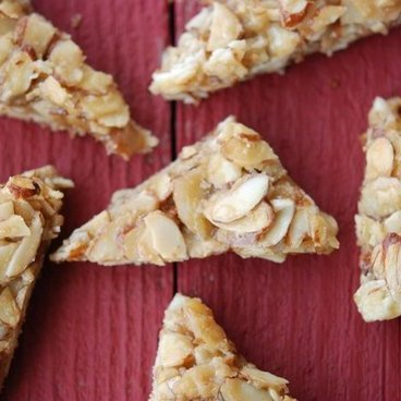 Almond Triangle Cookies