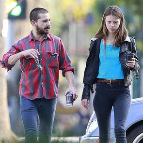 Shia Labeouf With Girlfriend Mia Goth   Pictures