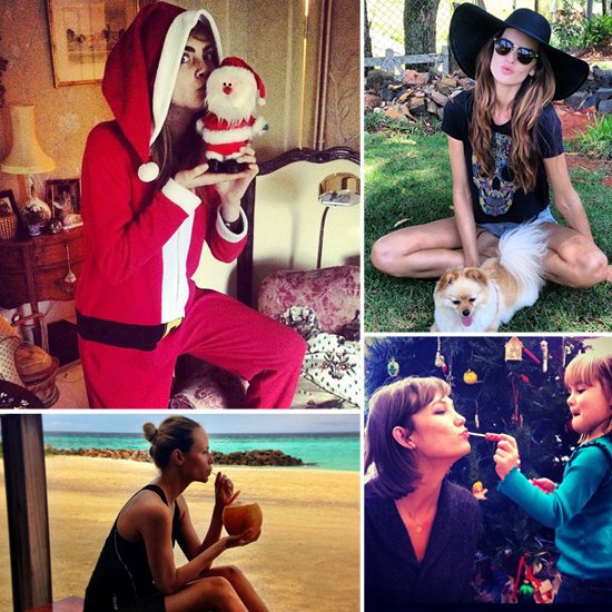 Christmas Holiday Candids From Models and Stylish Stars