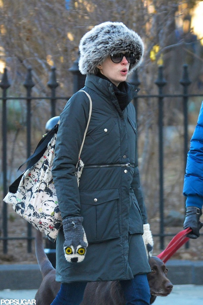 Anne Hathaway Celebrates Box Office Success With Adam and Esmeralda