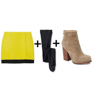 How to Wear Miniskirts During Winter