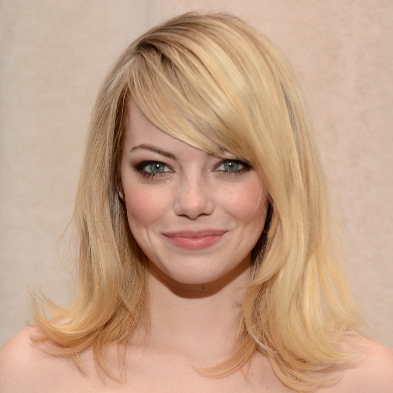 Emma Stone's Bronze Eye With Sparkle