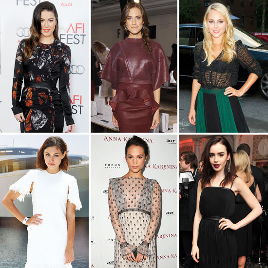 2013 Style Icon: Phoebe Tonkin Lily Collins Allison Williams