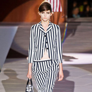 Black-and-White-Striped Clothes Trend 2013