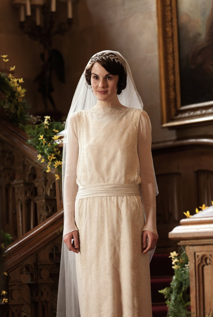 Mary-looks-elegant-her-20s-style-wedding-dress.jpg