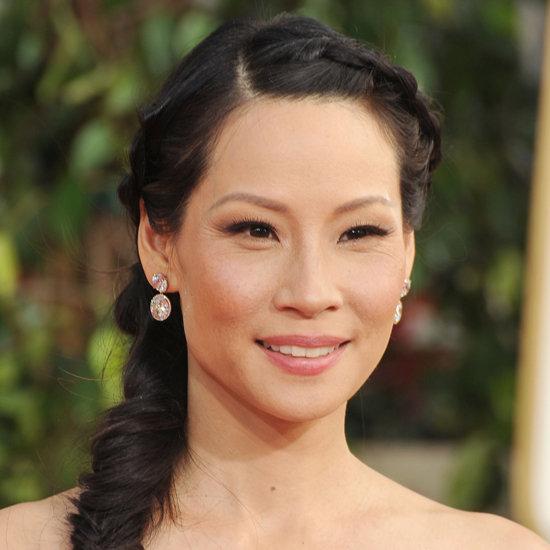 Lucy Liu | Golden Globes Hair 2013
