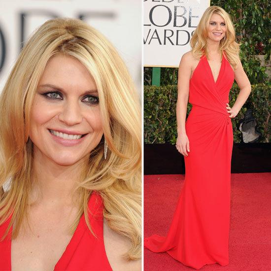 Claire Danes | Golden Globes Red Carpet Fashion 2013