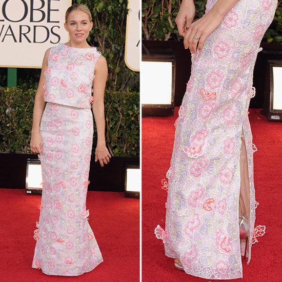 See Sienna Miller in Erdem at the 2013 Golden Globes