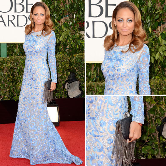Nicole Richie | Golden Globes Red Carpet Fashion 2013