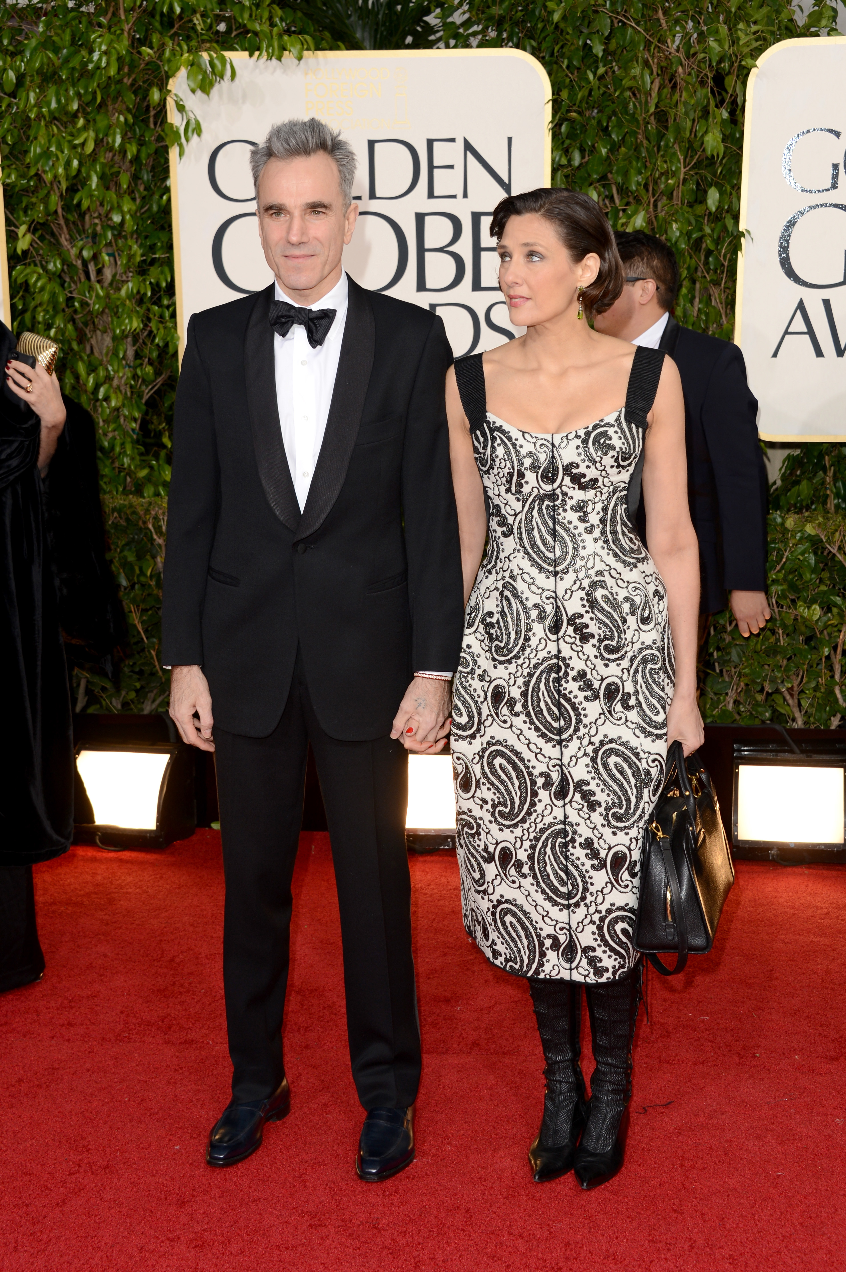 Daniel Day-Lewis and Rebecca Miller   Star Couples Sparkle ...