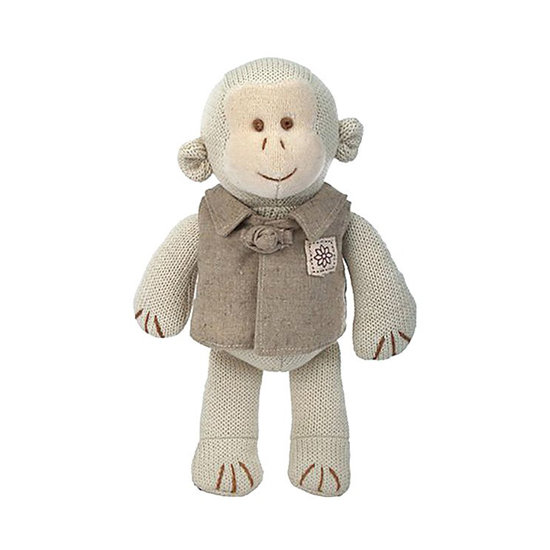 Green Baby Organic Knitted Monkey