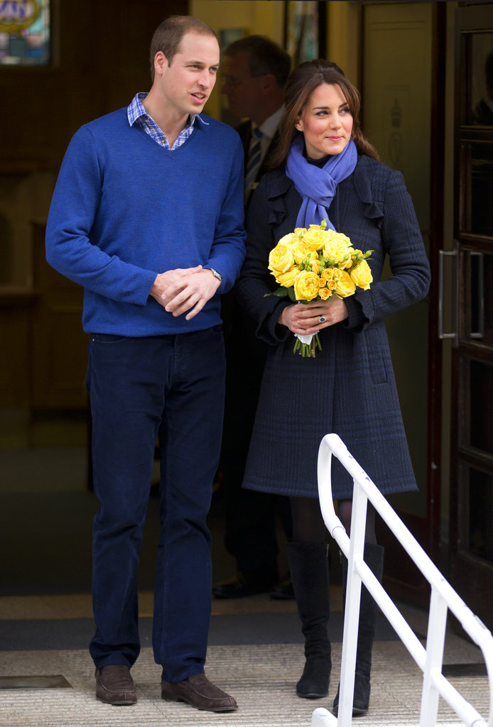 Prince William picked up Kate Middleton from the hospital in December of 2012 after she went under treatment for acute morning sickness while pregnant.