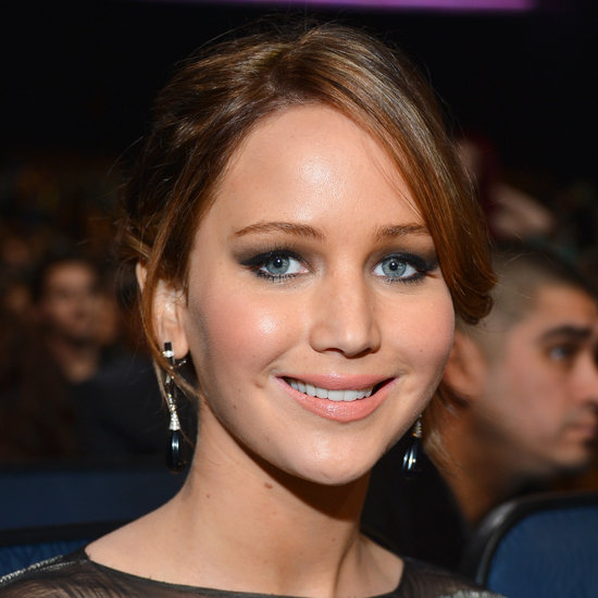 Jennifer Lawrence's Makeup at the People's Choice Awards