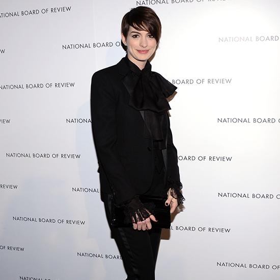 Anne Hathaway, Jessica Chastain At National Board Of