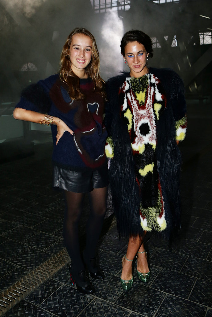 Leonetta Fendi and Delfina Delettrez Fendi