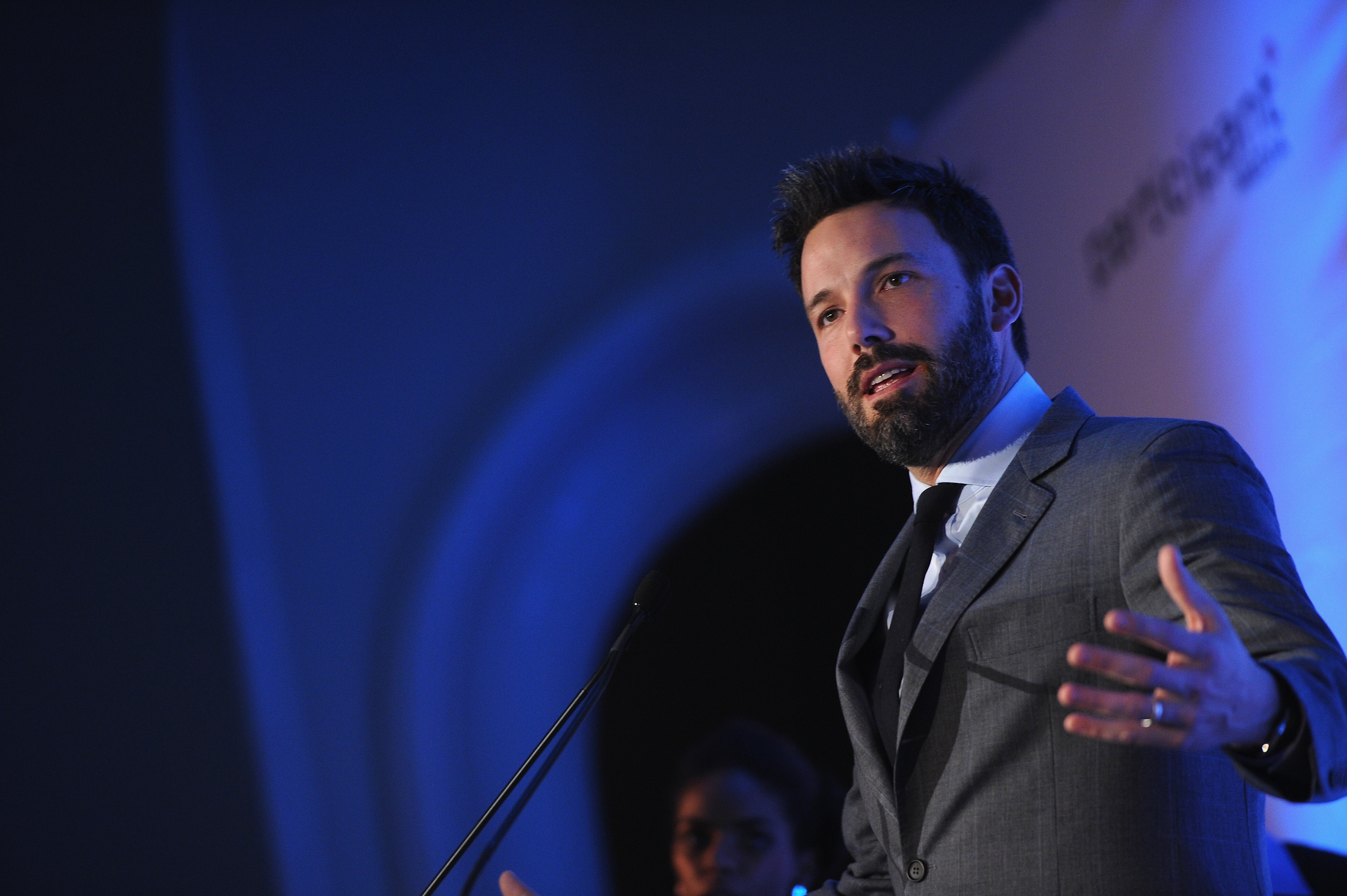 Ben Affleck Gets Honored With Support From Pregnant Kristen Bell