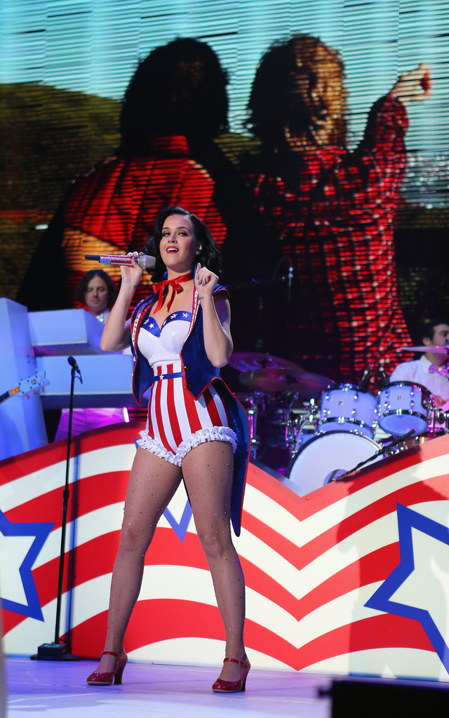 Katy Perry wowed the crowd.
