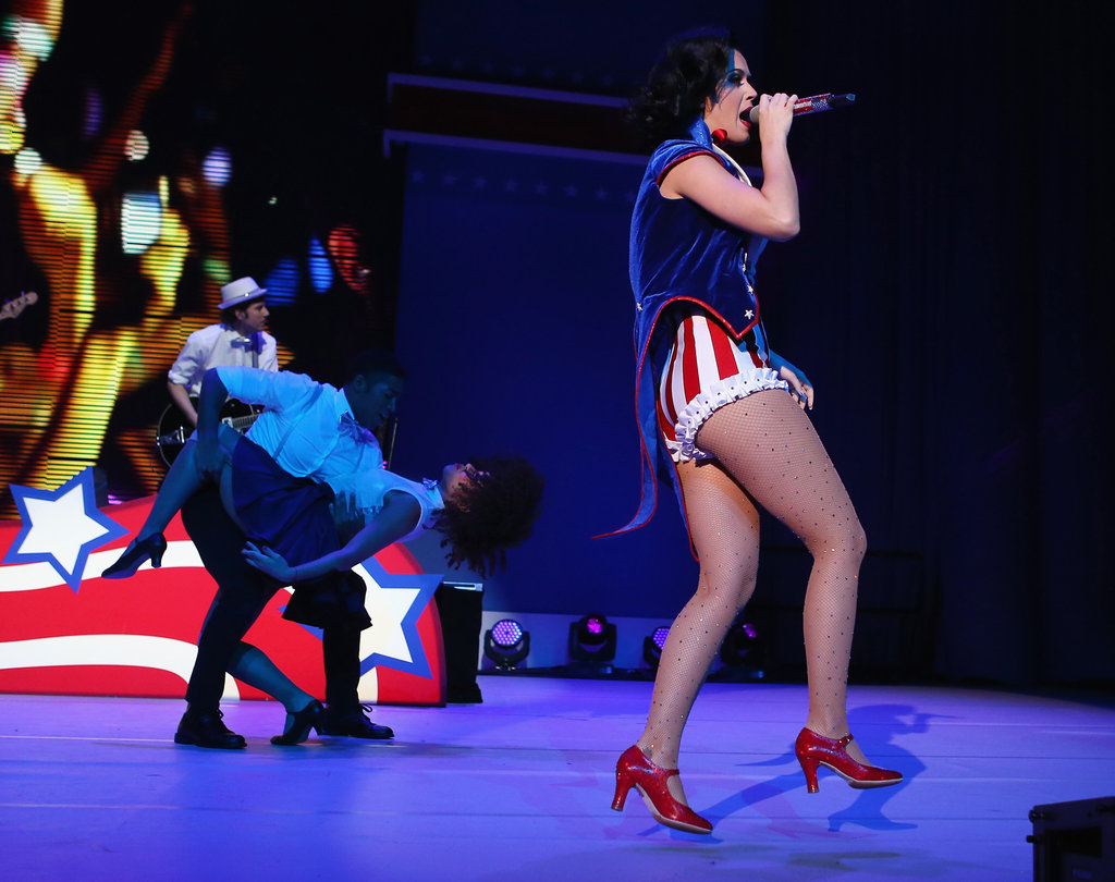 Katy Perry entertained the crowd.