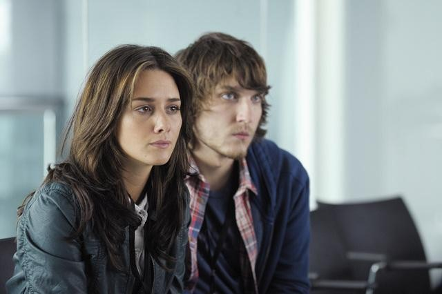 Addison Timlin and Scott Michael Foster in Zero Hour.