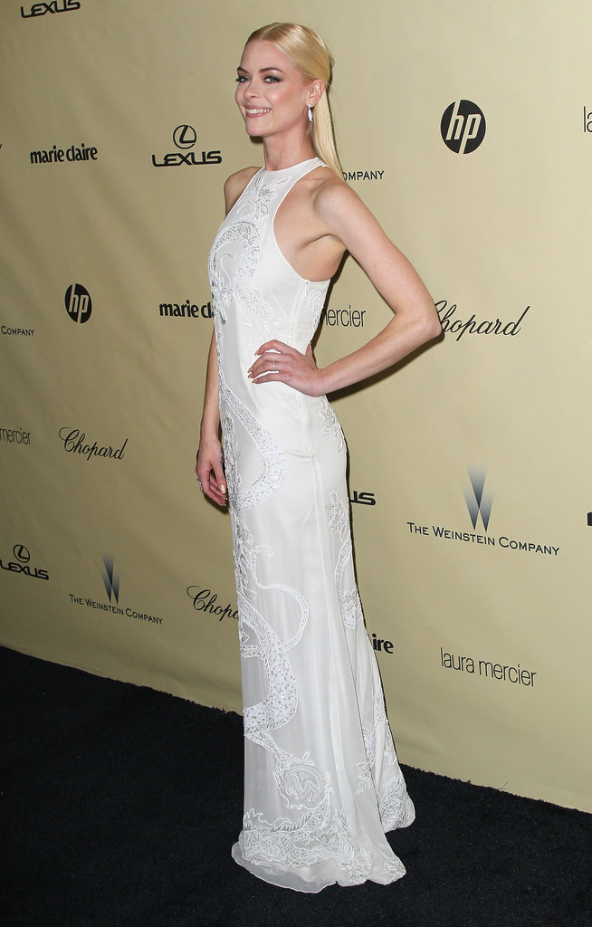 Actress Jamie King also attended the Weinstein afterparty in Beverly Hills Sunday night.