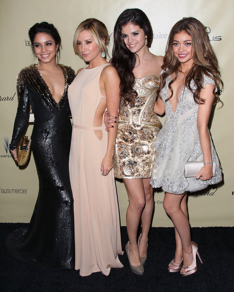 Vanessa Hudgens, Ashley Tisdale, Selena Gomez, and Sarah Hyland partied the night away in their gorgeous gowns.