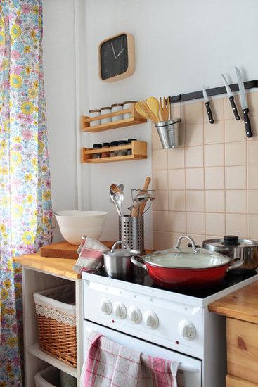 9 Ingenious Space-Saving Kitchen Solutions