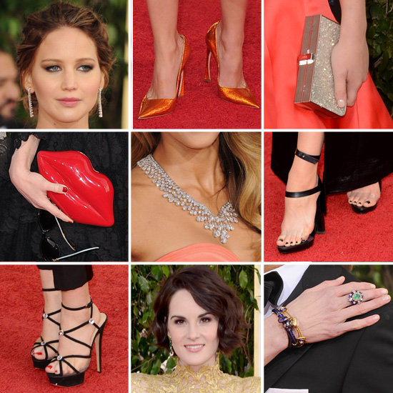 No red-carpet gown would be complete without a few sparkling accessories, right?