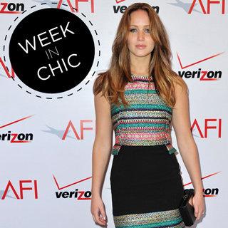 Jennifer Lawrence Style: Dior Red Dress, Prabal Gurung