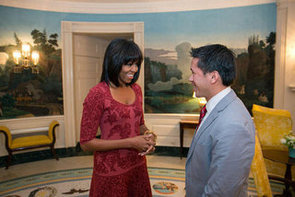 FLOTUS Michelle Obama's New Fringe